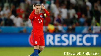 Frankreich Fußball-EM Slowakei vs. England Wayne Rooney