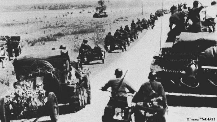Β΄ Παγκόσμιος Πόλεμος, ναζιστική Γερμανία, επίθεση, Σοβιετική Ένωση
