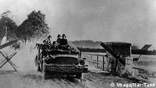 Zweiter Weltkrieg Hitler-Deutschland überfällt die Sowjetunion
