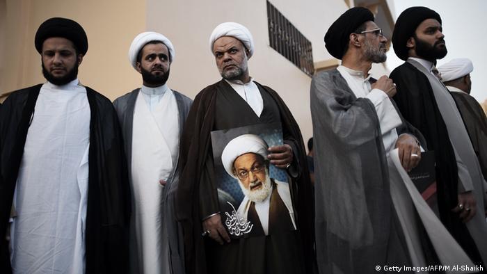 Bahrain Demonstration Shiite Sheikh Isa Qassim