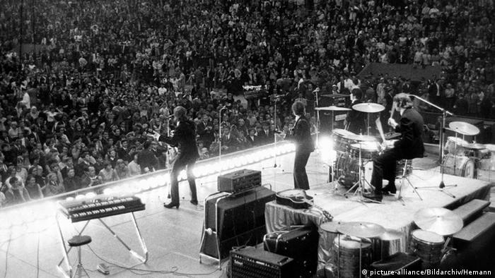Konzert der Beatles in Essen 1966 (Foto: dpa)