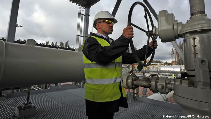 a nord stream pipeline operator in northwestern russia