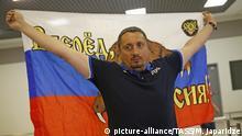 Russland Moskau Alexander Shprygin Präsident der Russian National Fan Association