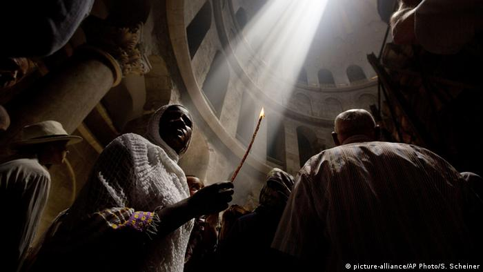 Holy Sepulchre in Jerusalem (picture-alliance/AP Photo/S. Scheiner)