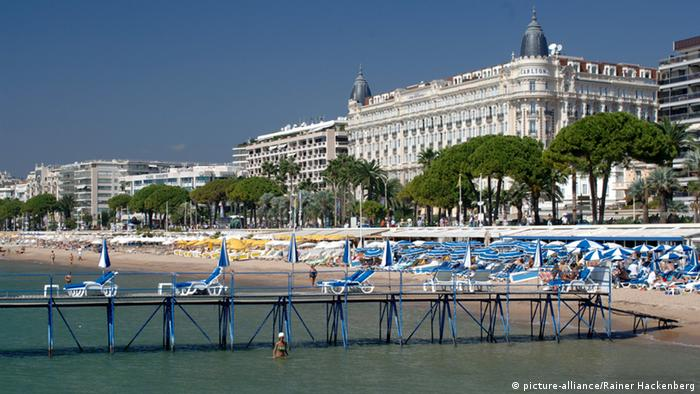 Frankreich Cannes Strand