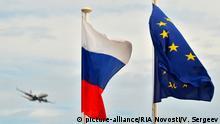 Symbolbild Beziehungen EU - Russland