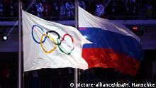 Symbolbild Olympische Spiele und Russland - Doping