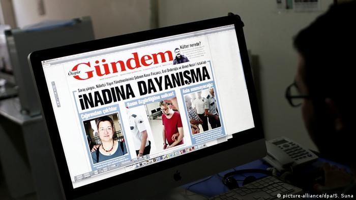 Türkei Istanbul kurdische Zeitung Ozgur Gundem