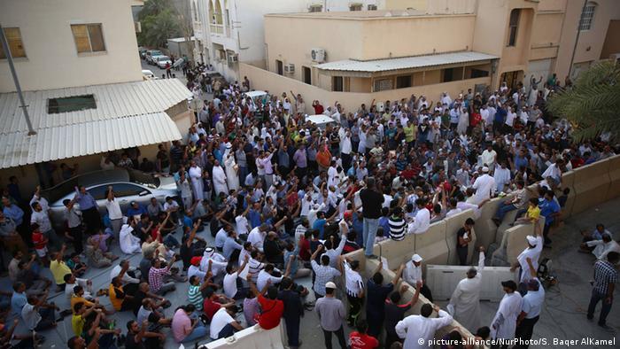 Proteste gegen Ausbürgerung von Scheich Isa Kassim in Bahrain (Foto: picture-alliance/NurPhoto/S. Baqer AlKamel)