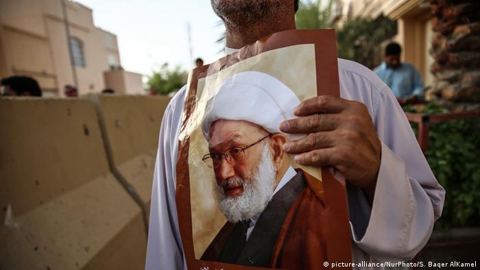 Protest gegen die Ausbürgerung von Sheikh Isa Qassim in Bahrain (Foto: picture-alliance/NurPhoto/S. Baqer AlKamel)