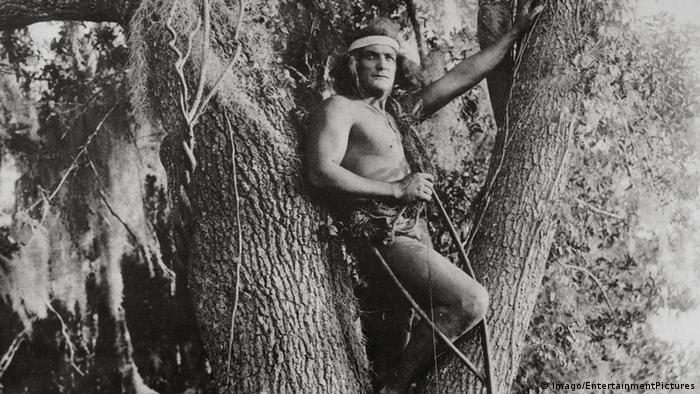 USA Elmo Lincoln im Film Tarzan of The Apes von 1918