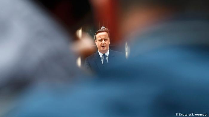 British Prime Minister David Cameron in the run up to the EU referendum
