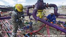 USA Fracking Bohrstelle Bohrung Colorado