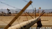 USA Fracking Bohrstelle Pipeline Gas Druck Leitung Kalifornien