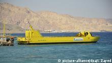 Ägypten Schiff Seascope Submarine
