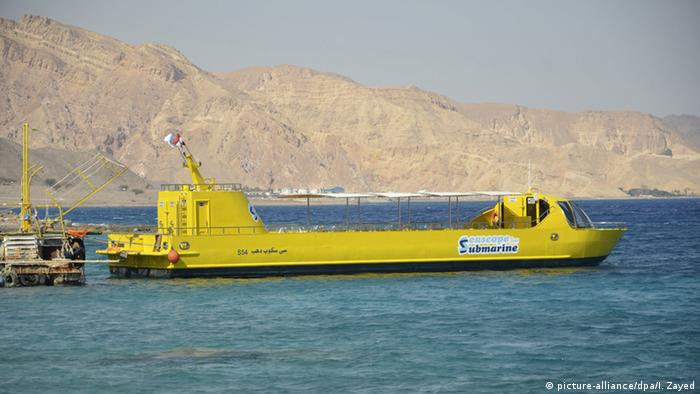 Ägypten Schiff Seascope Submarine (picture-alliance/dpa/I. Zayed)