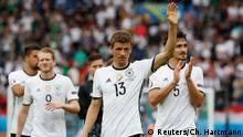 Frankreich Fußball-EM Deutschland vs. Nordirland