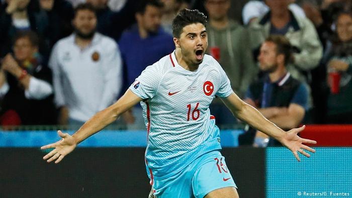Frankreich Fußball-EM Tschechien vs. Türkei Jubel