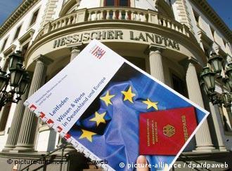 Um teste de conhecimentos gerais sobre a Alemanha deve nortear o processo de naturalização