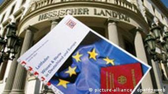 Einbürgerungs-Fragebogen in Hessen