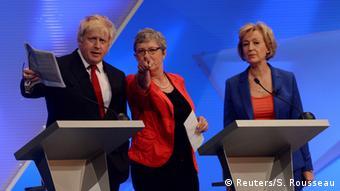 Großbritannien Brexit BBC Debatte