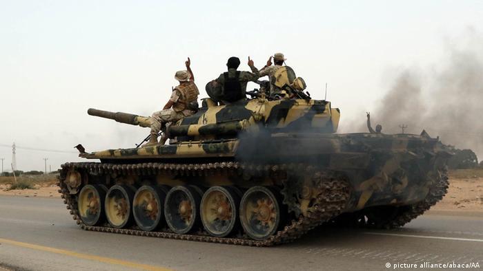 Libyen Sirte Offensive