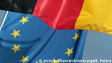 Deutschland EU Flaggen