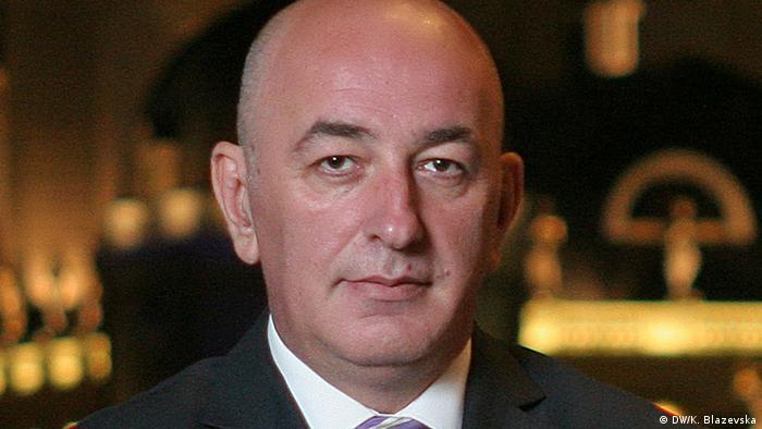 Mazedonien Arsim Zekolli (DW/K. Blazevska)