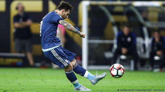 USA Lionel Messi Erzielt Das 20 In Der Halbfinale Copa America Centenario