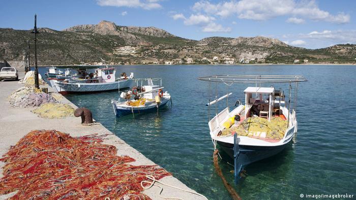Mittelmeer Fischer