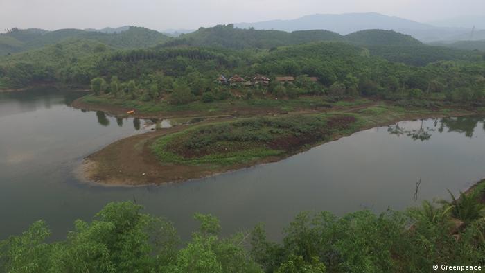 A wide view of Chum Chon Ton Nam Nan Highland-Swamp-Field farm