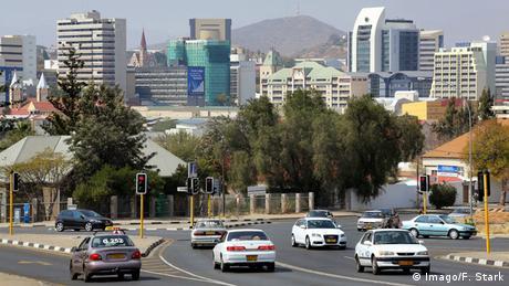 Namibia Windhoek Stadtansicht