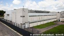 Stuttgart Stammheim Altes Prozessgebäude am Gefängnis
