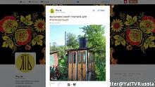 Screenshot https://twitter.com/YatTVRussia/status/745520220601618433 22.06.2016 (c) Twitter@YatTVRussia
