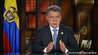 Presidente colombiano, Juan Manuel Santos
