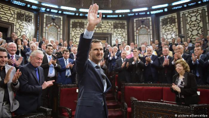 Bashar al-Assad Präsident von Syrien (picture-alliance/dpa)