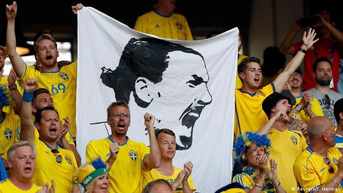 UEFA EURO 2016 Schweden vs Belgien +++ Fans aus Schweden (Reuters/Y. Herman)
