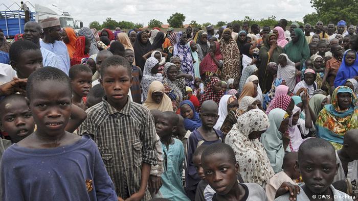Nigeria Flüchtlingslager Flüchtlinge Kinder