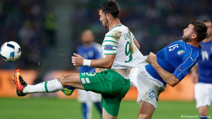 UEFA EURO 2016 Italien vs Irland +++ Spielszene