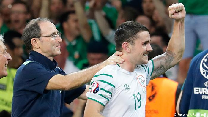 UEFA EURO 2016 Italien vs Irland +++ Iralnd feiert