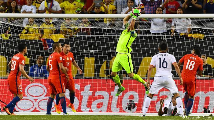 Copa America Centenario Chile vs. Kolumbien