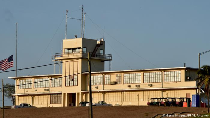 Военная тюрьма в Гуантанамо, 2014 г.