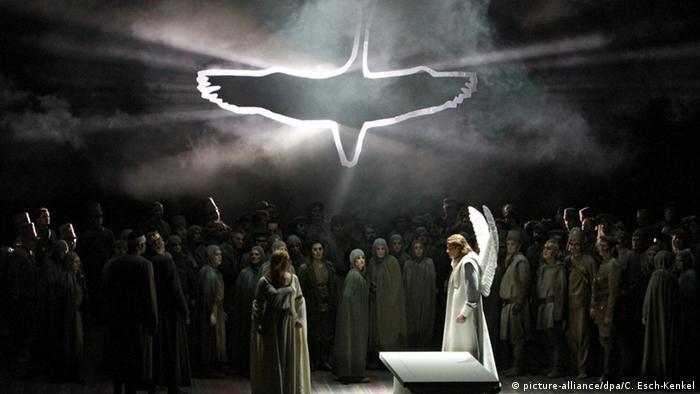 Сцена из Лоэнгрина в Немецкой опере, Берлин