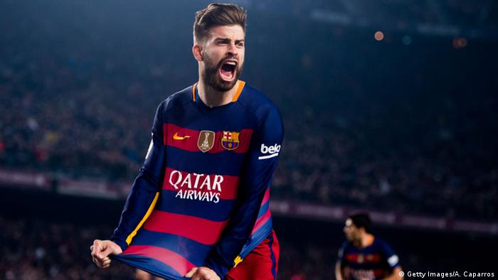 Fussballer Gerard Pique (Getty Images/A. Caparros)