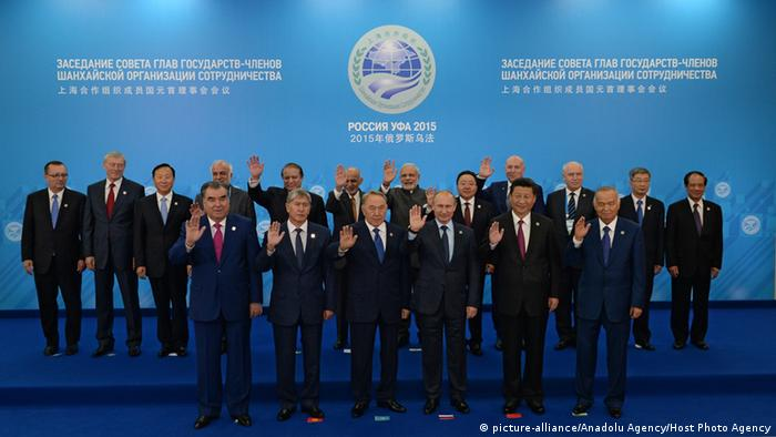 Russland Shanghai Cooperation Organization Heads of State and Government