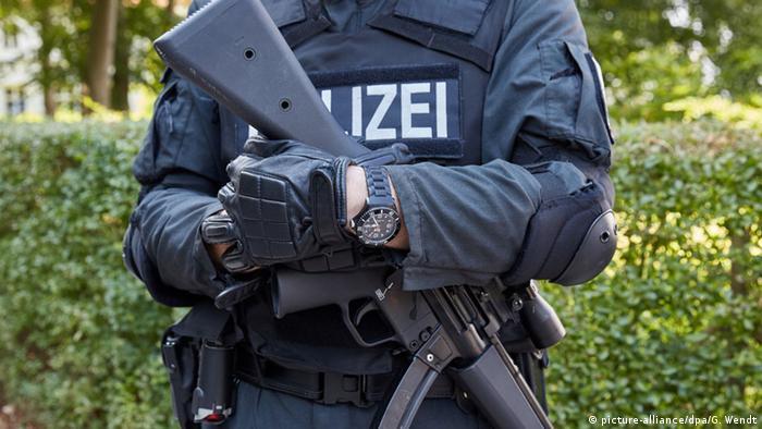 Боец немецкого спецназа
