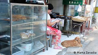 meat market in China