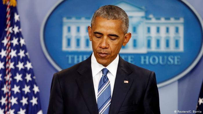 Obama, en un valle de l�grimas