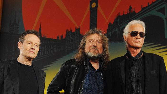 Led Zeppelin (EPA/Andy Rain)