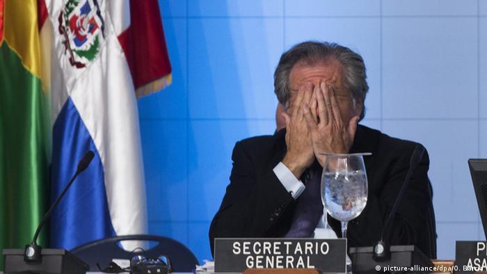 Dominikanische Republik - Generalsekretär der OAS Luis Almagro (picture-alliance/dpa/O. Barria)